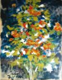 fioritura  - mario fanconi - Pastelli