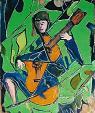 dolci melodie con la chitarra - mario fanconi - Olio