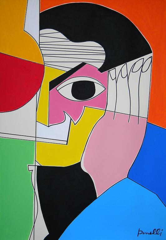 Ritratto di Pablo Picasso - Gabriele Donelli - Acrilico - 1200 €