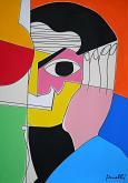Ritratto di Pablo Picasso - Gabriele Donelli - Acrilico - 1200€