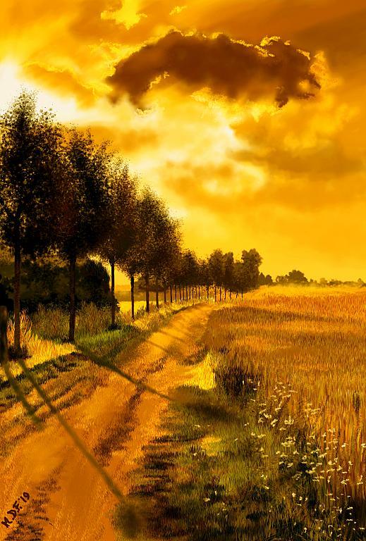 Sentiero della gioia - Michele De Flaviis - Digital Art - 120 €
