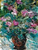 espressione floreale - mario fanconi - Olio