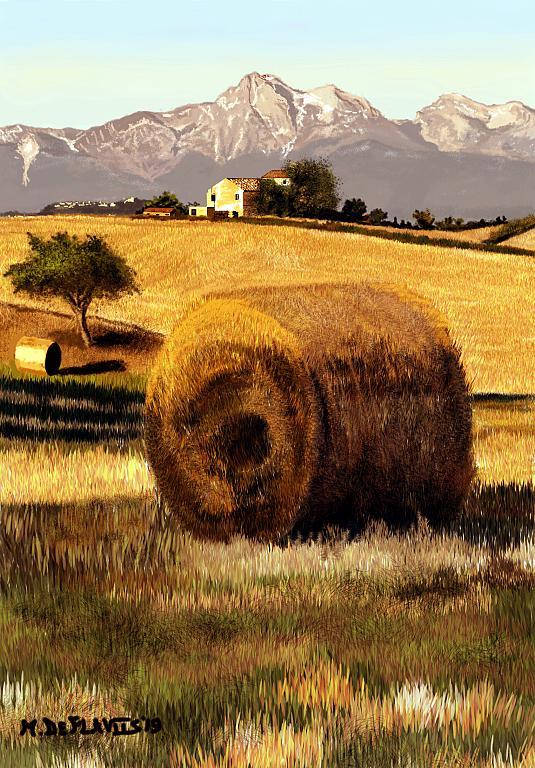 Campagna moscianese - Michele De Flaviis - Digital Art - 100 €