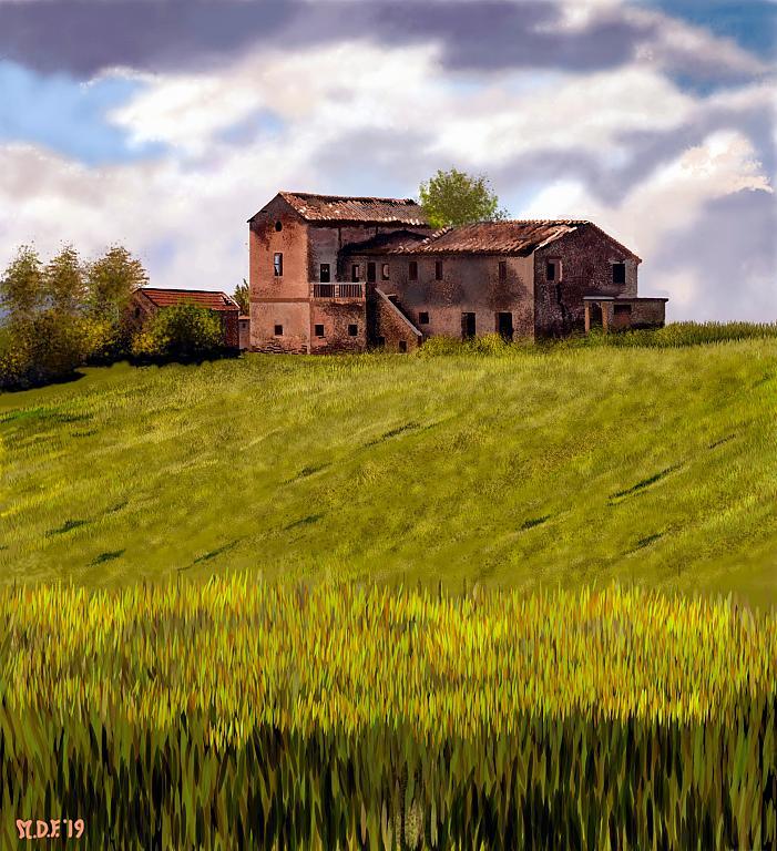 Casa colonica moscianese abbandonata - Michele De Flaviis - Digital Art