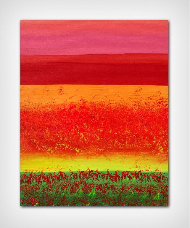 Horizons II 40x50 cm - Davide De Palma - Acrilico - 120 €