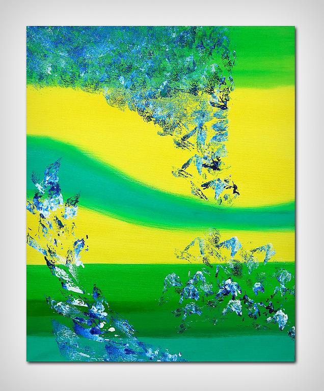 Vivid, 40x50 cm - Davide De Palma - Acrilico - 120 €