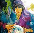 la sfera di cristallo - mario fanconi - Olio