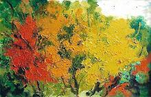 colori autunnali - mario fanconi - Olio