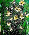 fiori gialli - mario fanconi - Olio