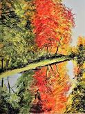 riflessi - francesco ottobre - Acrilico
