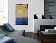 Abstract contemporanea - aliz polgar - Acrilico