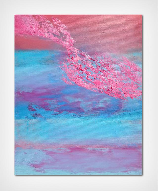 Have you ever seen the sky 40x50 cm  - Davide De Palma - Acrilico - 120 €