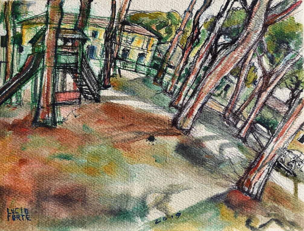 Playground - Lucio Forte - Acquerello - 89 €