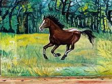 Cavallo - Pietro Dell Aversana - Olio - 110€