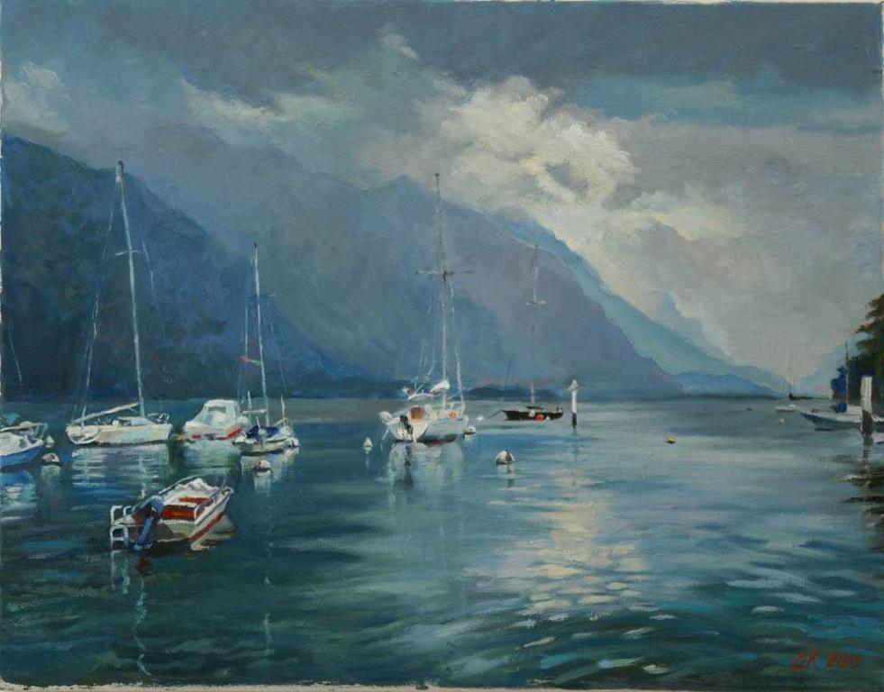 Dopo temporale - Olga Kozhanova - Olio - 250 €