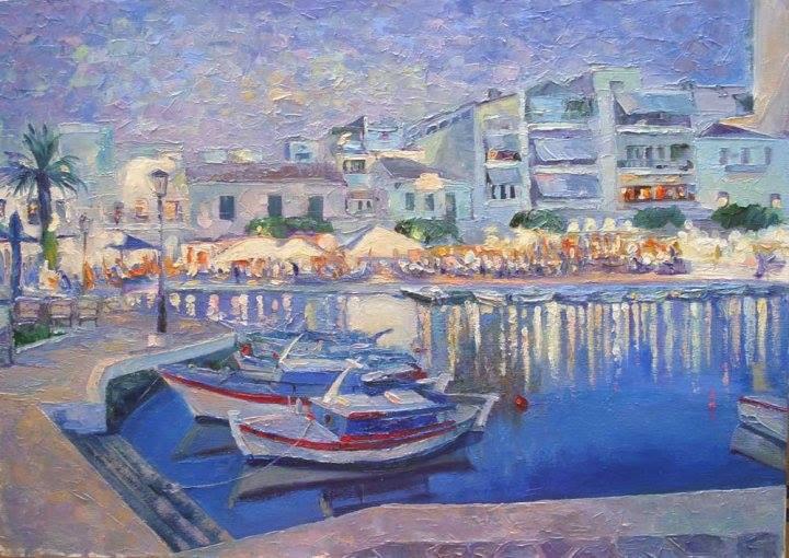 San Nicola Creta - Olga Kozhanova - Olio - 350 €