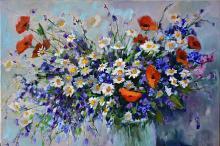 fiori - Olga Maksimova - Olio