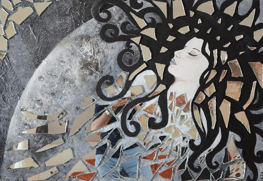 SOGNO LUNARE - Francesca Fachechi (KEKI) - Acrilico