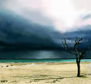 Cielo minaccioso - Michele De Flaviis - Digital Art