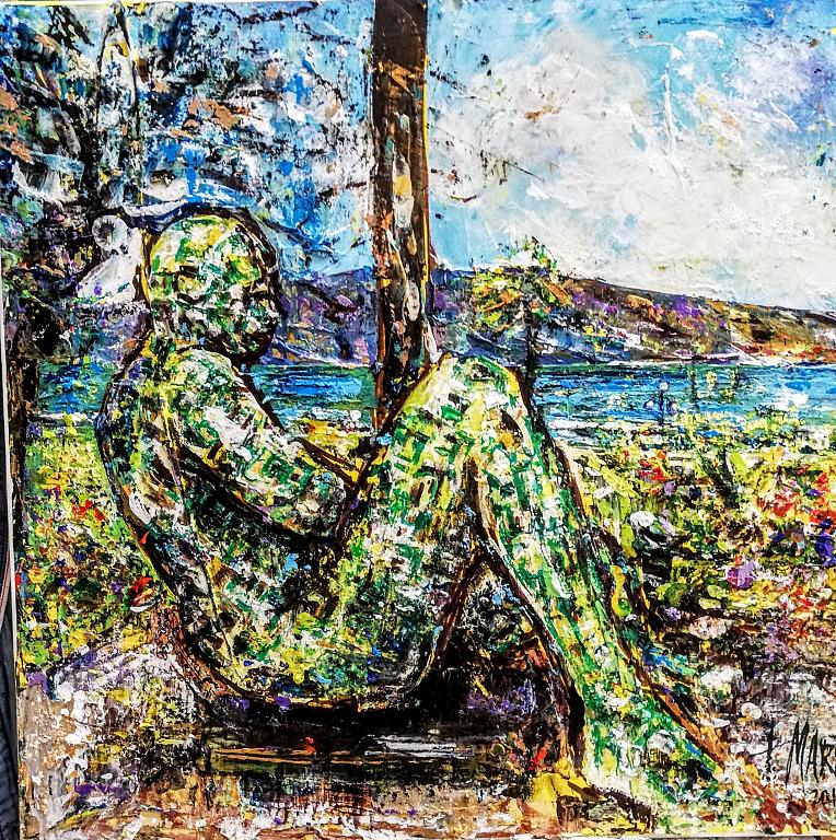 Occhi sullo Stretto - tiziana marra - Action painting - 250,00 €