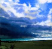 La bellezza del cielo e del mare - Michele De Flaviis - Digital Art