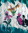 orchidea aristocrazia - mario fanconi - Olio