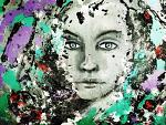 Tizy - Quello che le donne non dicono - - Rossana Corsaro - Acrilico - 400€