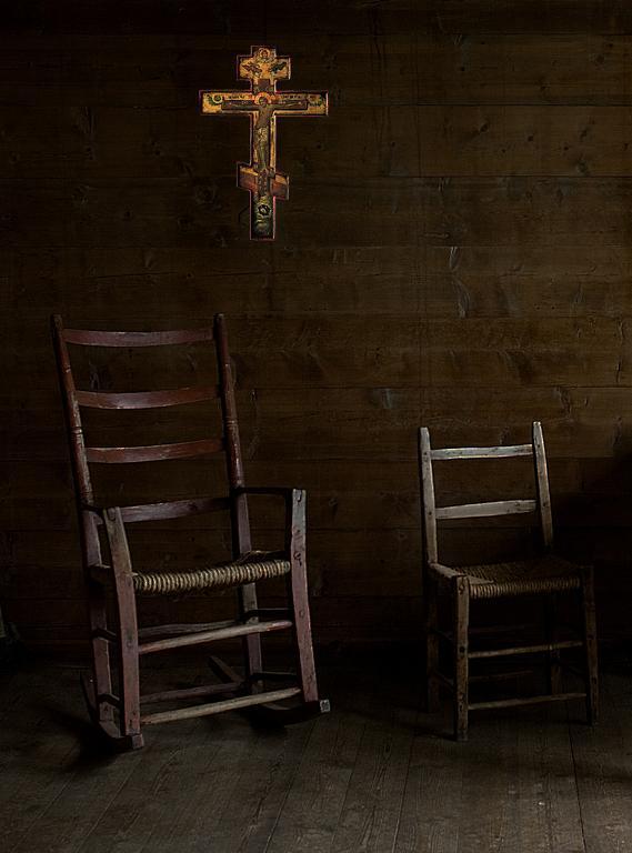 Croce Russa Ortodossa  - Alessandro Nerozzi - Tempera