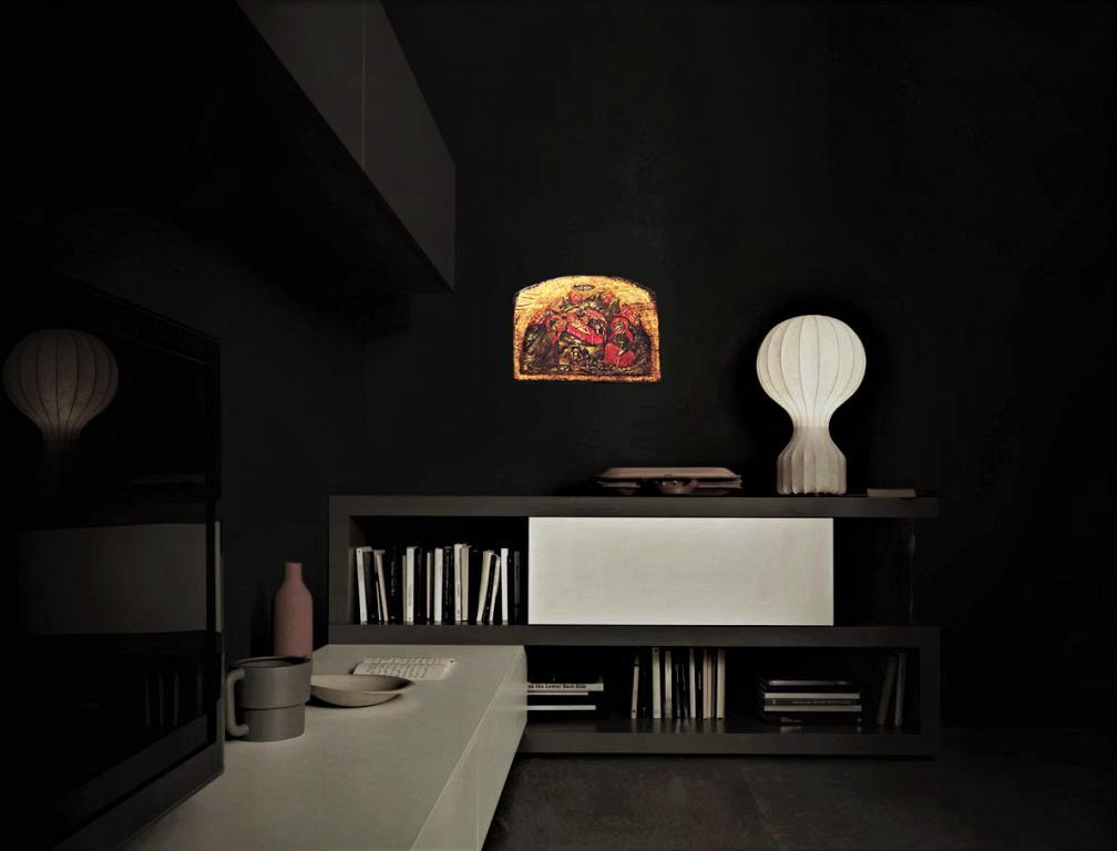 Natività - Alessandro Nerozzi - Tempera