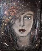 Angy-Quello che le donne non dicono - - Rossana Corsaro - Acrilico - 400€