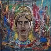 Esmy - Quello che le donne non dicono- - Rossana Corsaro - Acrilico - 400€