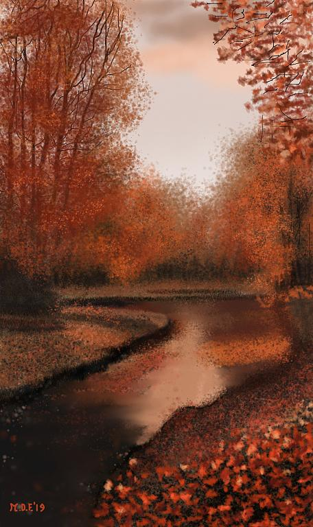 Il trionfo dell'autunno - Michele De Flaviis - Digital Art