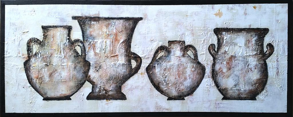 Amphora serie - aliz polgar - Acrilico - 180 €