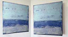 Dreaming in the blue - aliz polgar - Acrilico - 220€