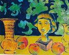 vasi mele e terracotta - mario fanconi - Olio