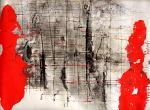 Dentro i confini - Massimo Di Stefano - mista su cartoncino - 100 €