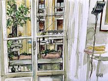 Senza Titolo 36 - Lucio Forte - Acquerello - 110€