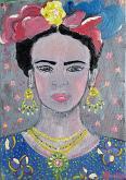 Adorazione Frida - Luana Marchisio - Olio