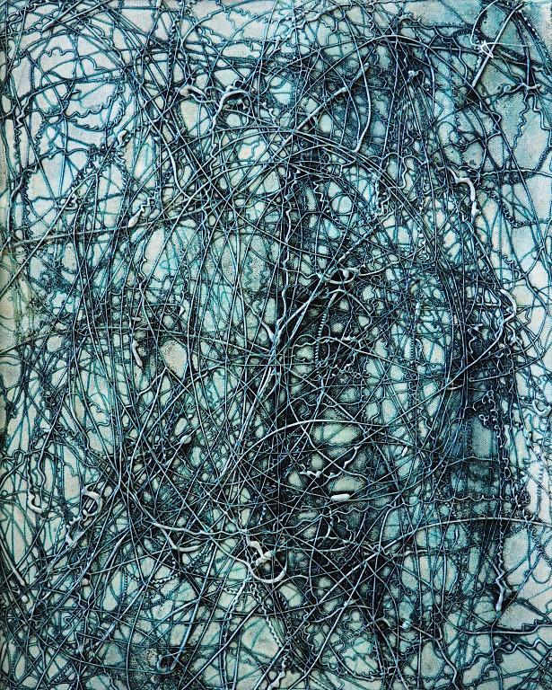 Acid dream - Massimo Di Stefano - mista su tela - 250 €