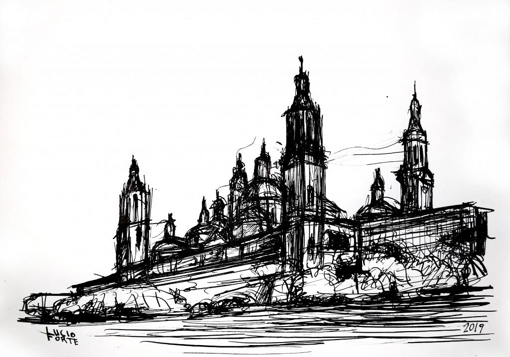 Basilica del Pilar - Lucio Forte - China su carta - 70 €