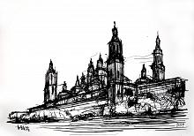 Basilica del Pilar - Lucio Forte - China su carta - 70€