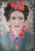 Frida Iconica - Luana Marchisio - Olio