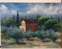 Umbria  - Olga Maksimova - Olio