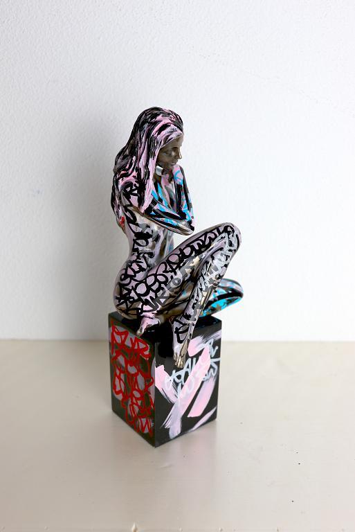 Nudo - marco stazzini - resina  - 400 €