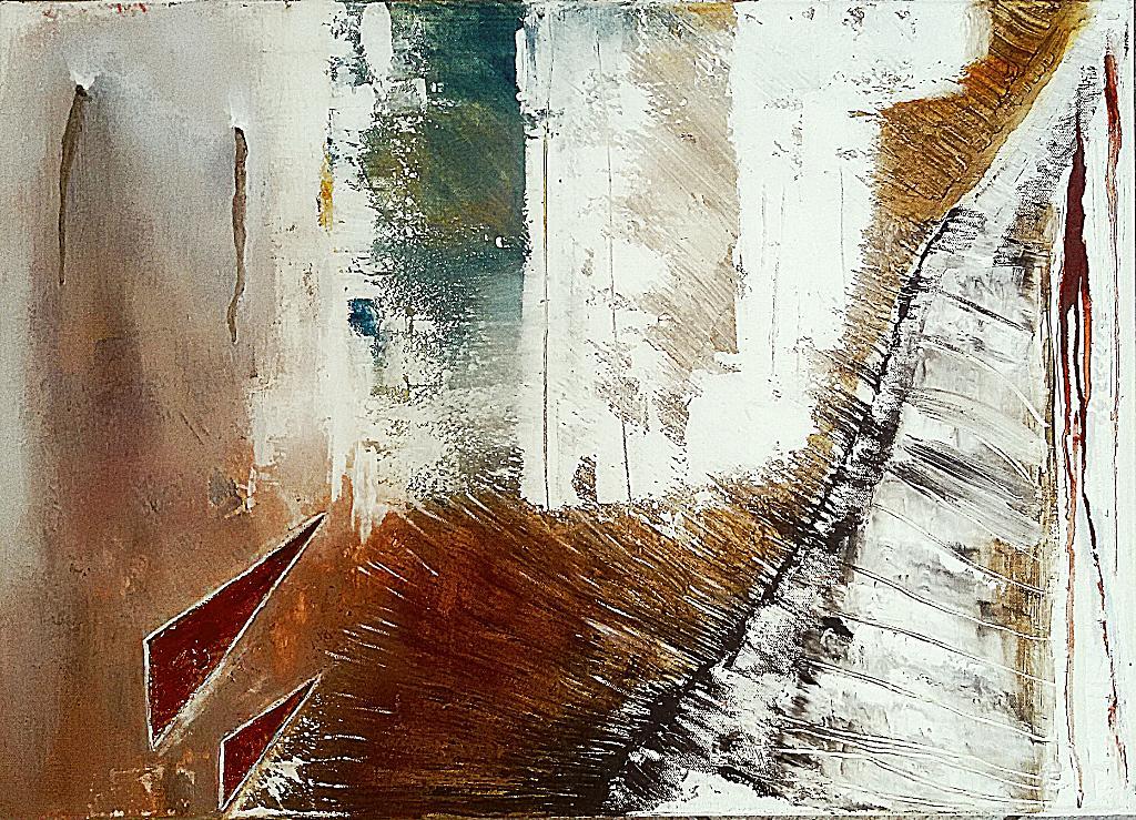 Lacerazione - GIOVANNI GRECO - stucco, vernice, olio - 370 €