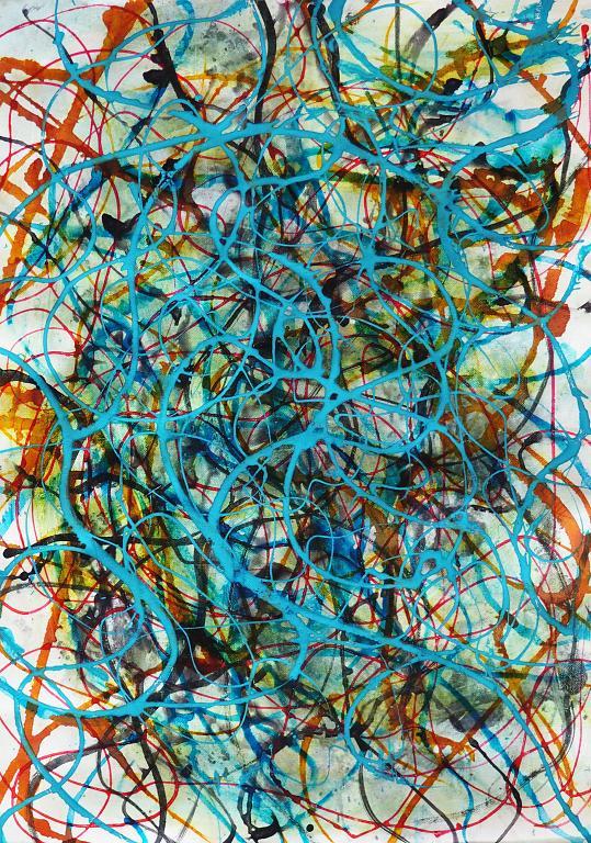 Astral connection - Massimo Di Stefano - Acrilico - 160 €