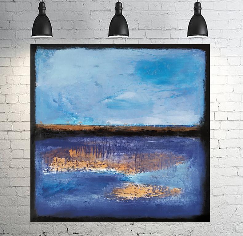 Chiaro scuro blu - aliz polgar - mista - 290 €