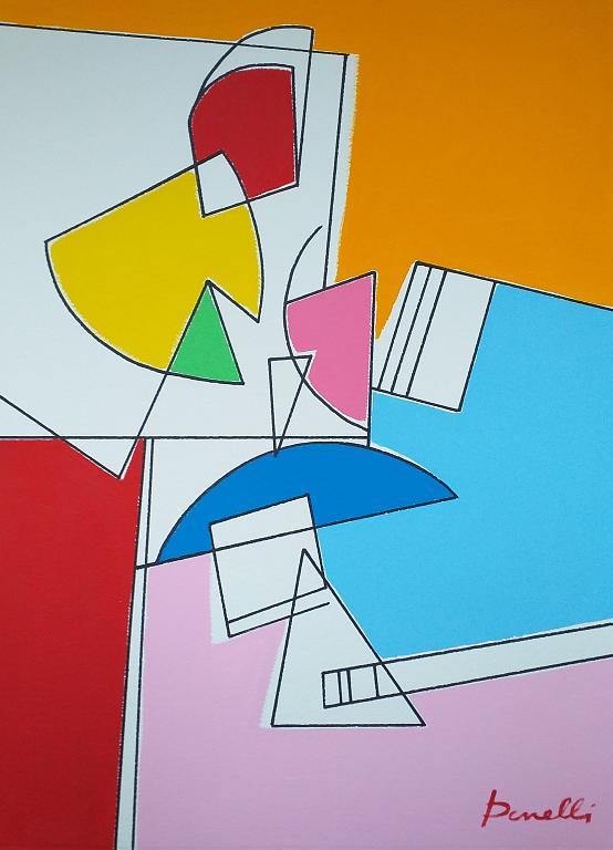 Composizione numero 1 - Gabriele Donelli - Acrilico - 400 €