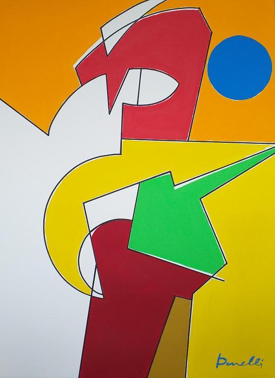Composizione numero 2 - Gabriele Donelli - Acrilico - 1100 €