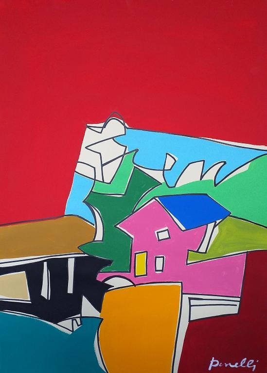 Paesaggio - Gabriele Donelli - Acrilico - 300 €